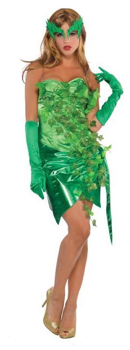 Women's Toxic Ivy Fancy Dress Costume  Thumbnail 1