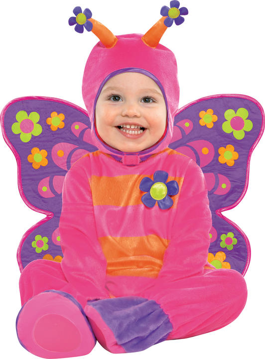Childs Flutterby Fancy Dress Costume Thumbnail 1