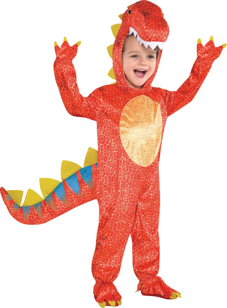 Boys Dinomite Dinosaur Fancy Dress Costume