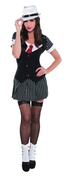 Women's Dressed To Kill Fancy Dress Costume  Thumbnail 1