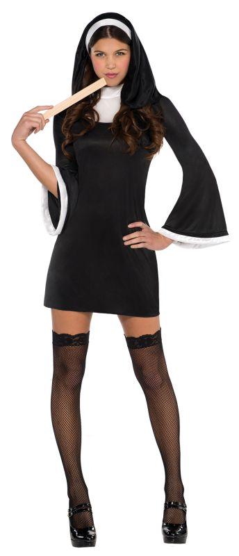 Women's Blessed Babe Nun Fancy Dress Costume
