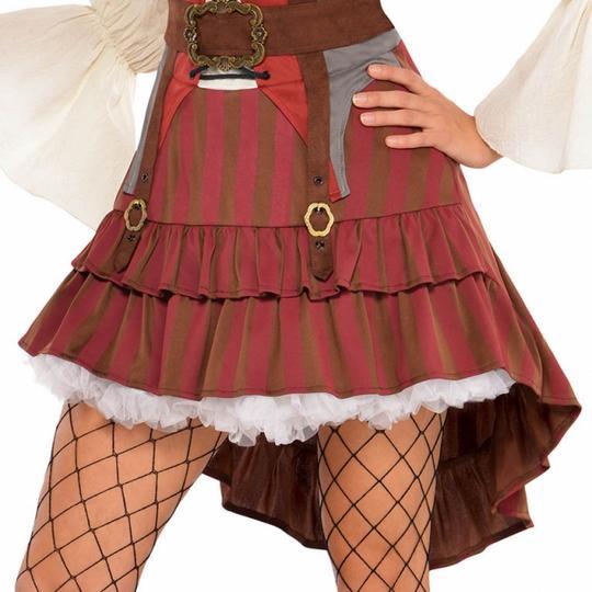 Women's Castaway Pirate Fancy Dress Costume  Thumbnail 4