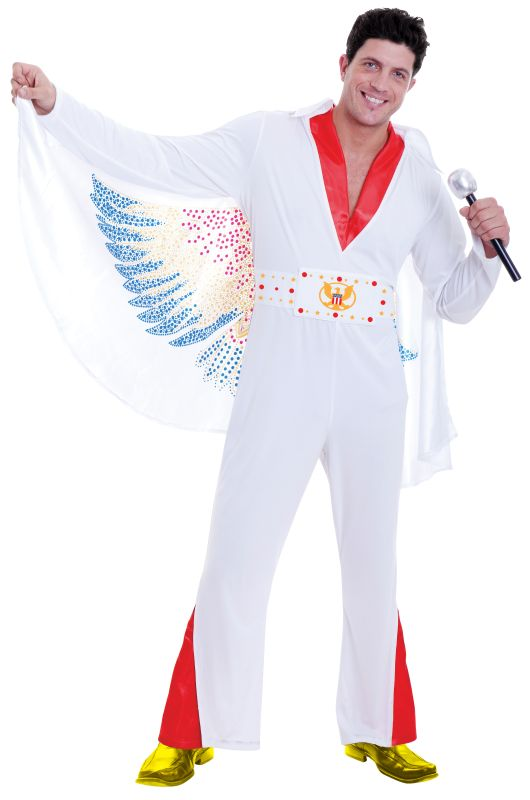 Mens RockstarFancy Dress Costume