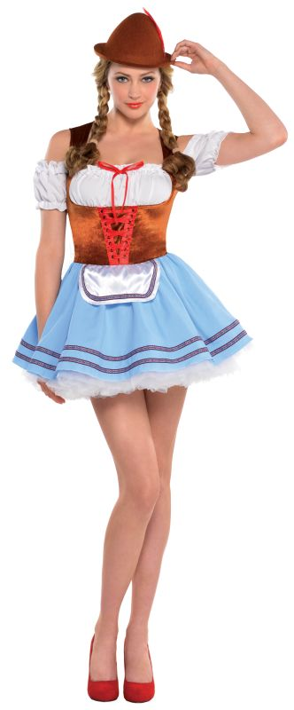 Women's Oktoberfest Girl Fancy Dress Costume