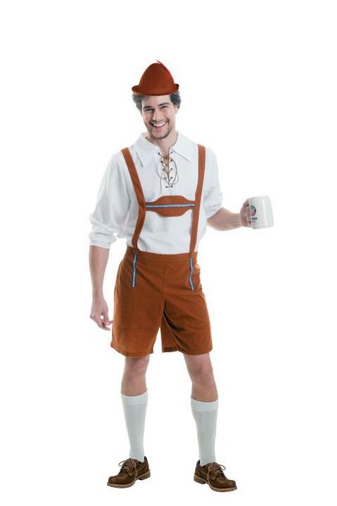 Oktoberfest Men's Fancy Dres Costume  Thumbnail 1