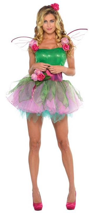 Women's Woodland Nymph Fancy Dress Costume  Thumbnail 1