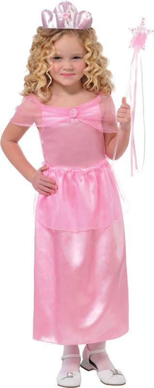 Girls Lil Princess Fancy Dress Costume