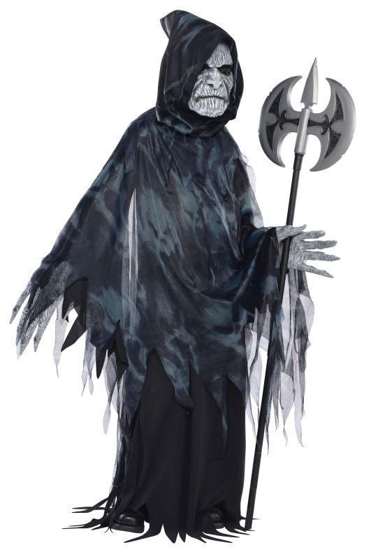 SALE! Kids Evil Reaper Soul Taker Boys Halloween Fancy Dress Kids Costume Outfit