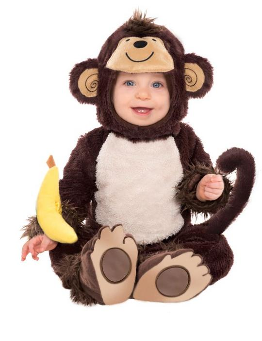 Toddlers Monkey Around Fancy Dress Costume  Thumbnail 1