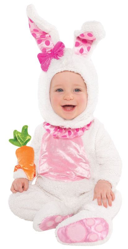 Girls Toddler Wittle Wabbit Fancy Dress Costume