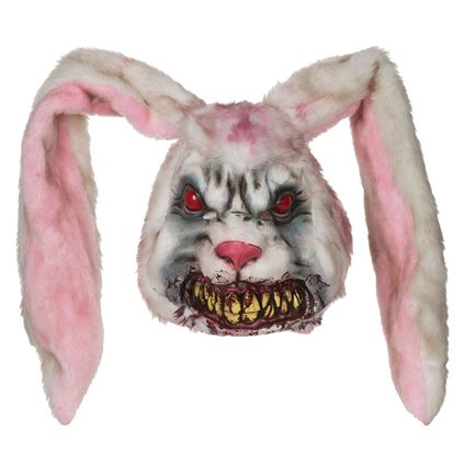 Adults Evil Bunny Mask  Thumbnail 1