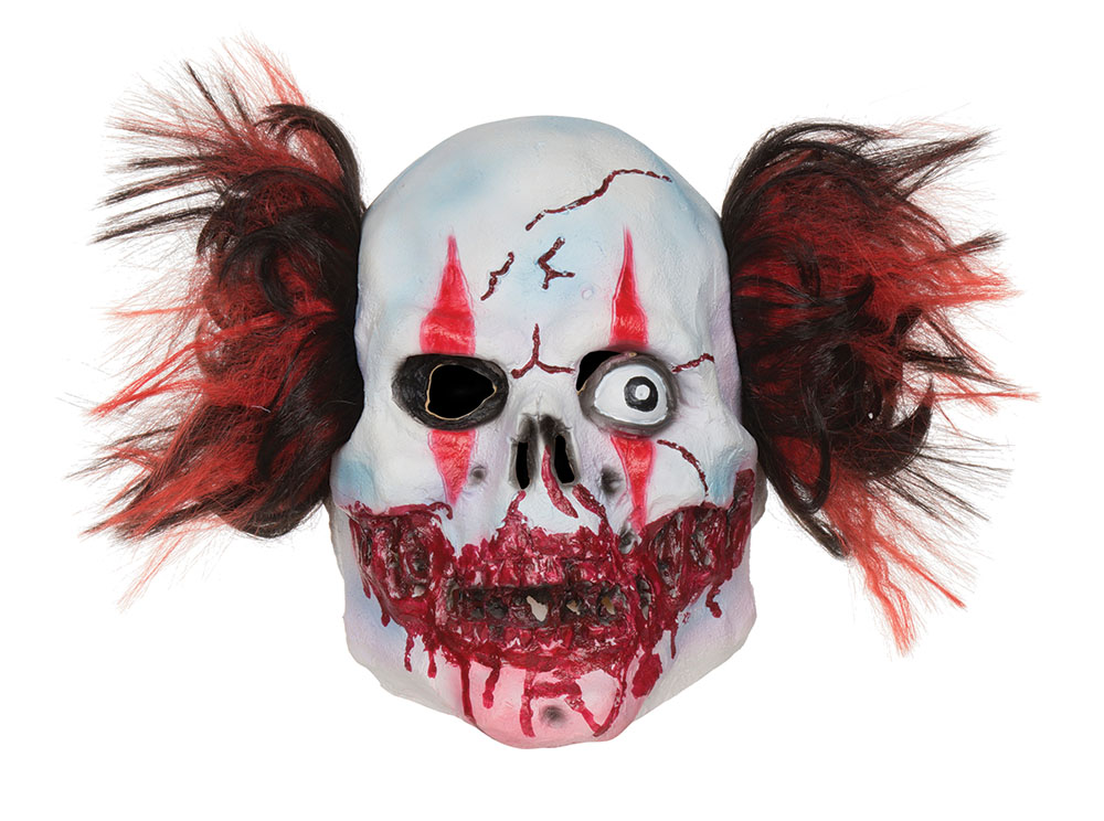 Adult Manic Clown Mask