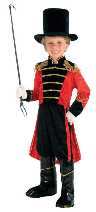 SALE! Child Ring Master Costume Lion Tamer Boys Book Week Day Fancy Dress Outfit Thumbnail 1