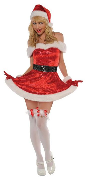 Women's Merry Kiss Me Fancy Dress Costume  Thumbnail 1