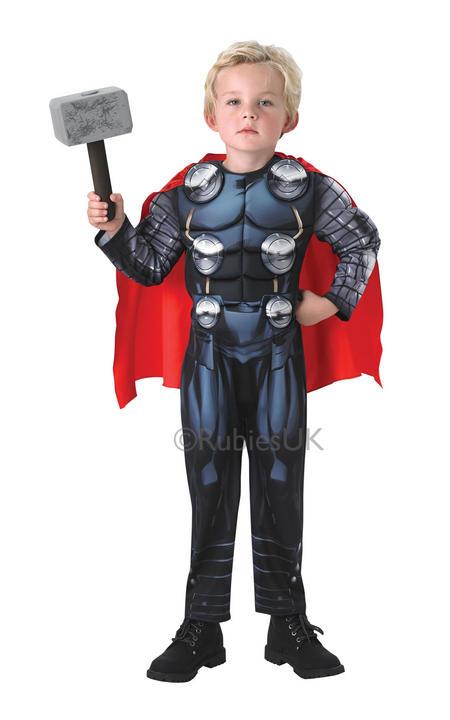 Boys Thor Avengers Assemble Deluxe Thumbnail 1