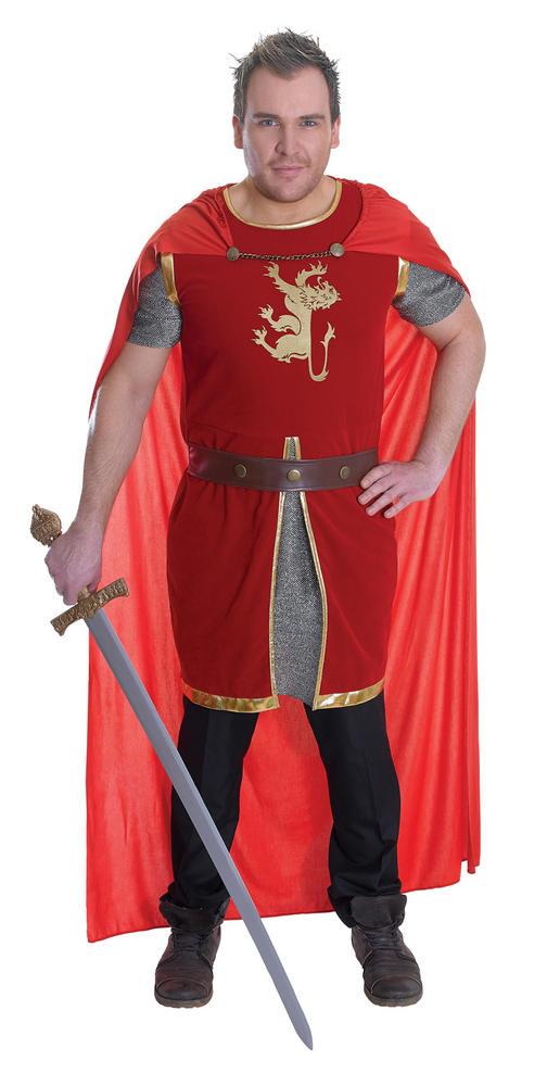 Mens Lion Heart Costume