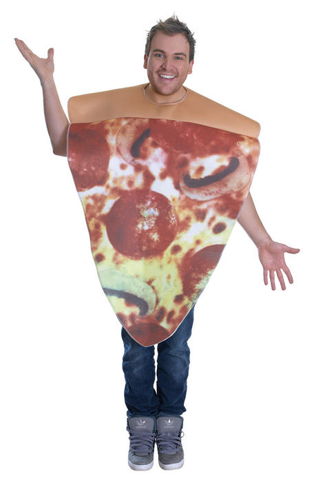 Adults Pizza Costume  Thumbnail 1