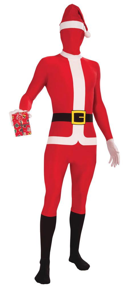 Santa Suit Disapearing Man