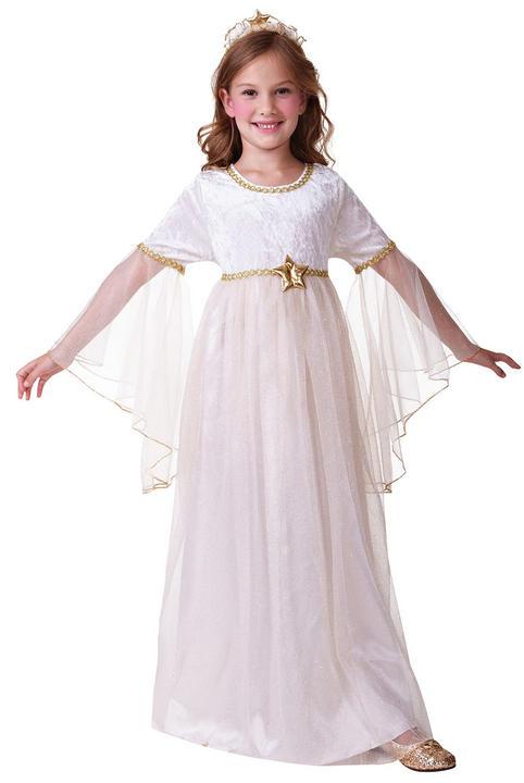 Girls Angel Long Sleeves Costume  Thumbnail 2