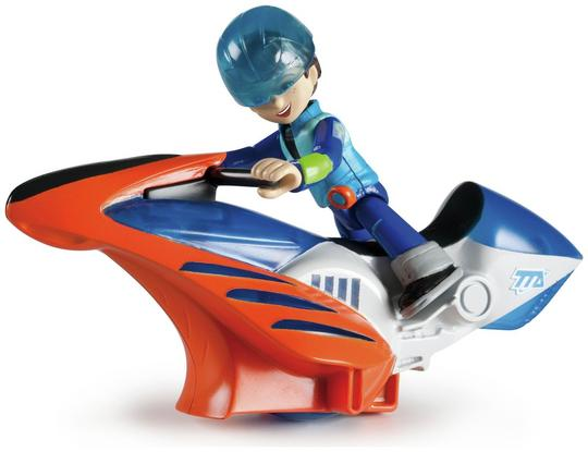 Disney Official Miles From Tomorrow Hoverbike & Action Figure Thumbnail 4