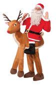 Adult Santa Ride-A-Reindeer