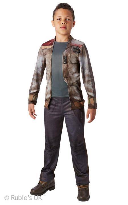 Boys Disney Star Wars  Deluxe Finn Costume  Thumbnail 1