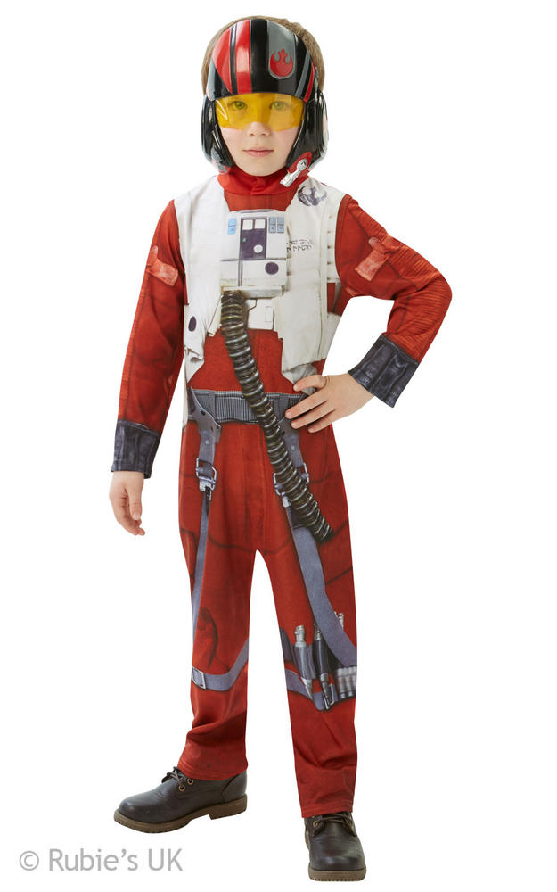 Boys Disney Star wars classic Poe X-Wing Fighter
