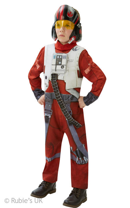 Boys Deluxe Poe x-Wing Fighter Costume  Thumbnail 1