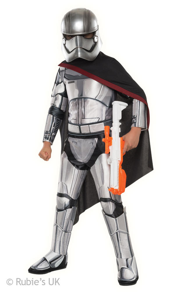 Boys Star Wars Super Deluxe Stormtrooper Commander costume