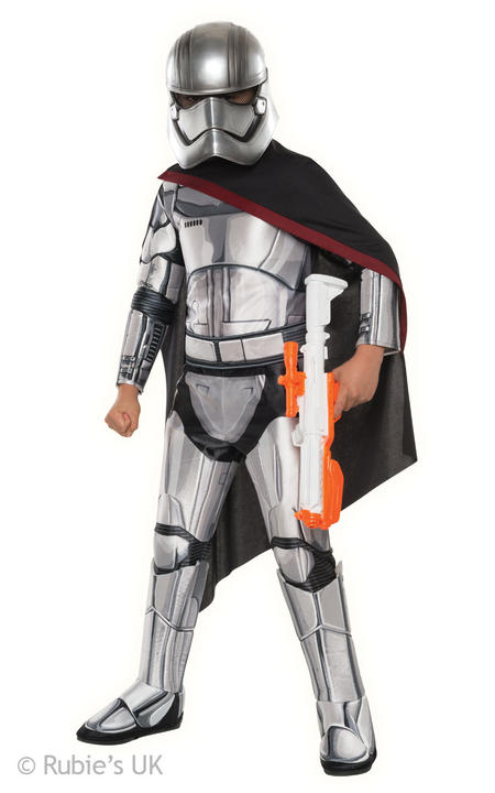 Boys Star Wars Super Deluxe Stormtrooper Commander costume  Thumbnail 1