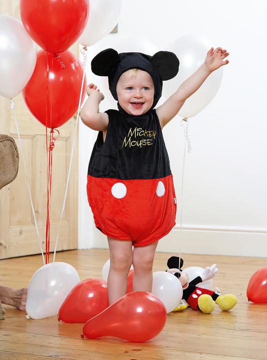 Disney Baby Mickey Mouse Tabard Fancy Dress Costume Thumbnail 1
