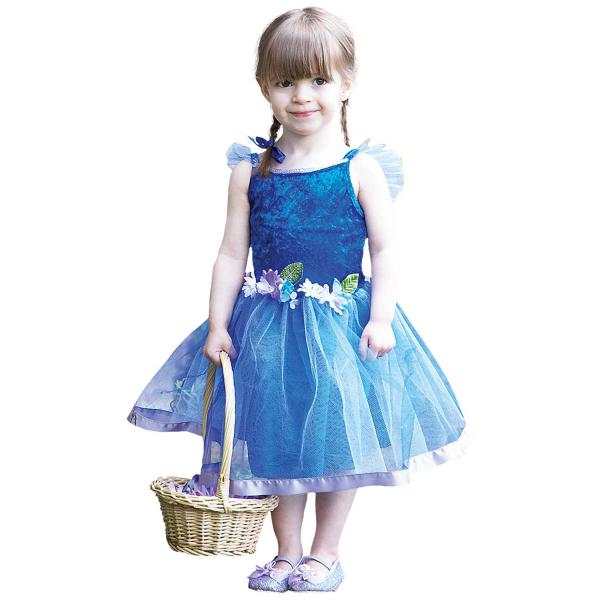 Girls Flower Fairy Fancy Dress Costume