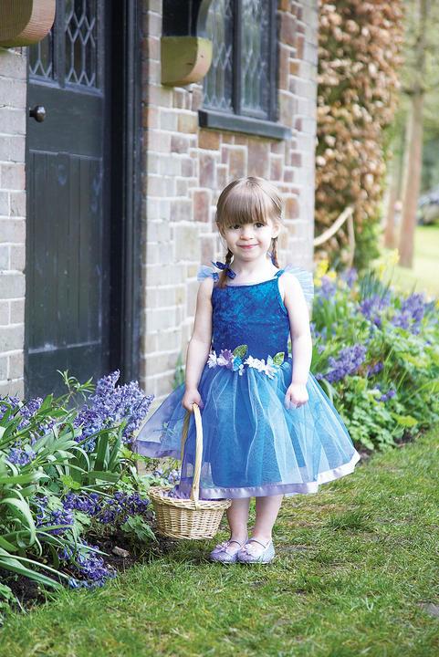 Girls Flower Fairy Fancy Dress Costume  Thumbnail 2