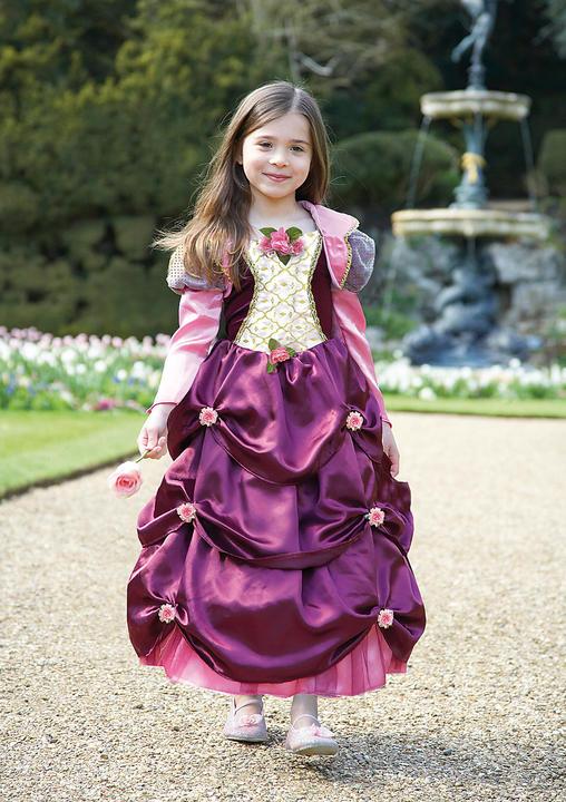 Girl's Damson Duchess Costume Kids School book week fancy dress outfit Thumbnail 1