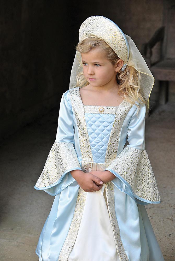 Girls Tudor Costume kids school book week fancy dress outfit
