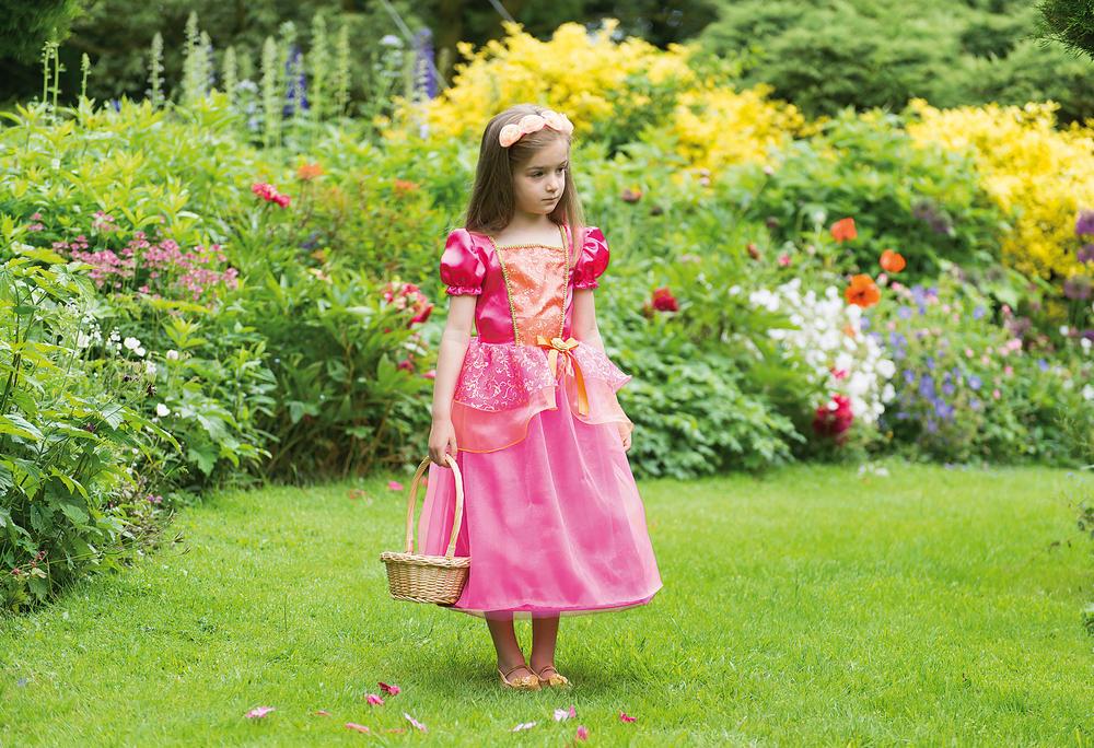 Girls Tropical Princess Fancy Dress Costume