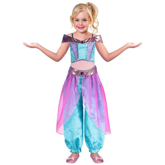 Girls Arabian Princess Costume Thumbnail 1