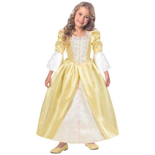 Girls Reversible Princess/Pauper 2-in-1 Fancy Dress Costume Thumbnail 2