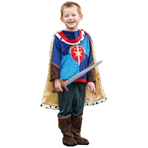 Boys Prince Charming Costume Kids School Book week Fancy Dress Story Outfit