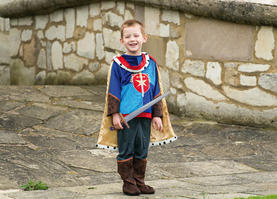 Boys Prince Charming Costume Kids School Book week Fancy Dress Story Outfit Thumbnail 2