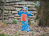 Boy's Monster Costume Kids School Book Week Fancy Dress Outfit Story Childs