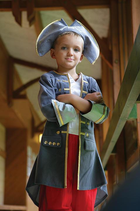 Boys Captain Fancy Dress Costume  Thumbnail 2