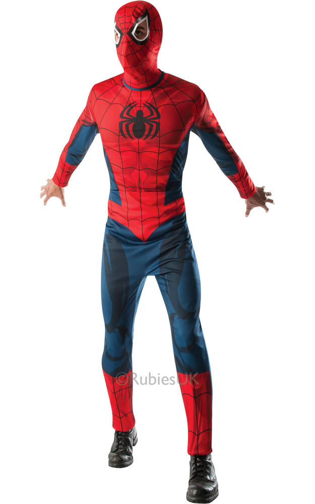 Mens Marvel Comics Spider Man Costume