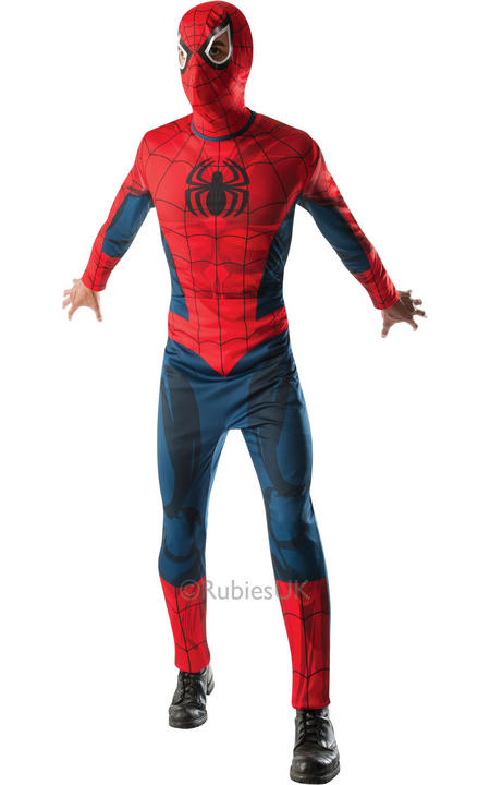 Mens Marvel Comics Spider Man Costume  Thumbnail 1