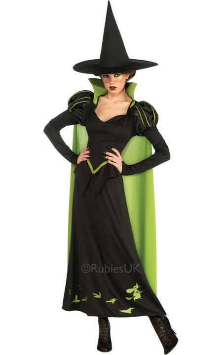 Womens Wizard of OZ Wicked Witch Of the West Costume  Thumbnail 1