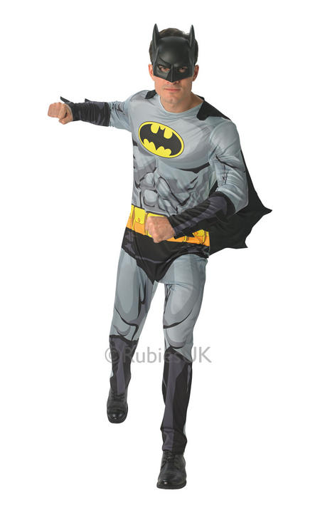 Mens Marvel Comic Book Batman Costume  Thumbnail 1