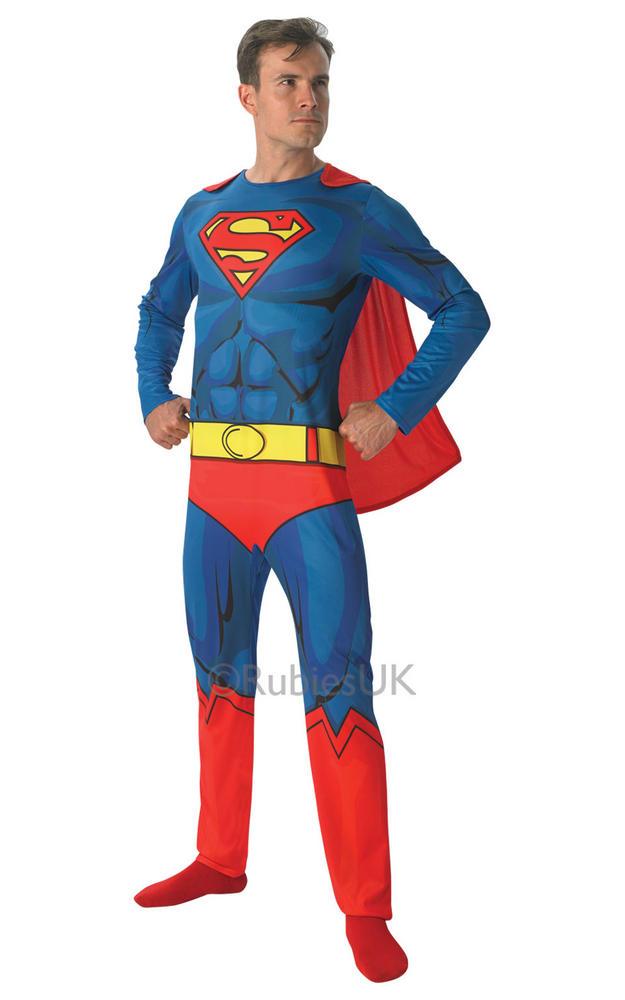 Mens Marvel Comic Book Superman Costume