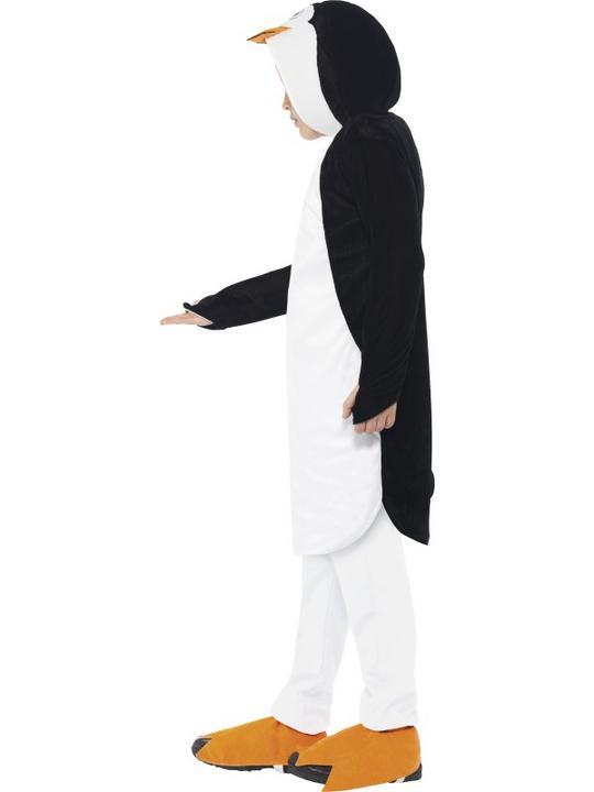 Girls Boys Penguin Costume Kids Madagascar Fancy Dress Outfit Film Animal  Thumbnail 3