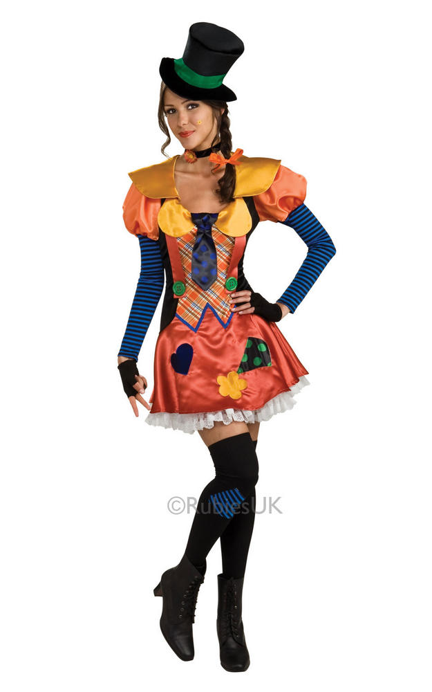 Clown Hobo Women's Costume