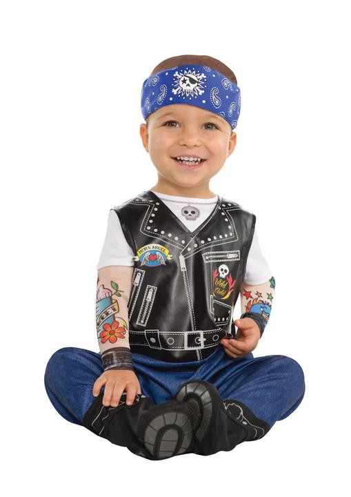 Baby Little Rebels Biker Costume  Thumbnail 1